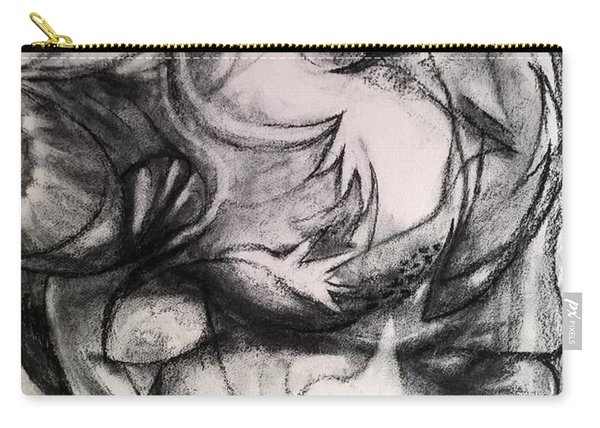 Charcoal Study Carry-all Pouch