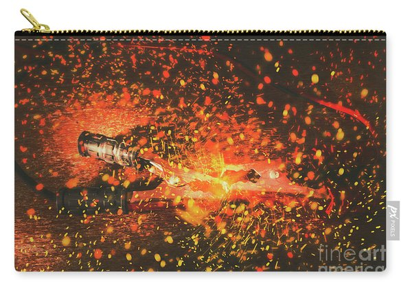Charged Up Workshop Art Carry-all Pouch