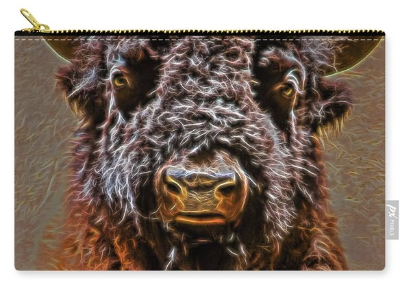 Charging Bison Carry-all Pouch