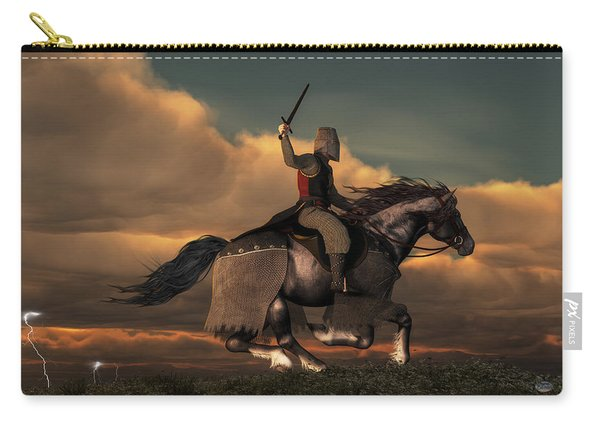 Charging Knight Carry-all Pouch