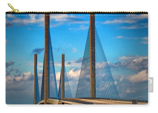 Charles W Cullen Bridge South Approach Carry-all Pouch