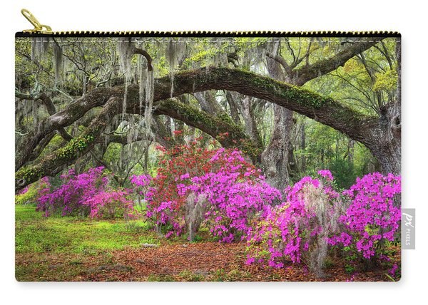 Charleston South Carolina Spring Flowers Lowcountry Landscape Photography Carry-all Pouch