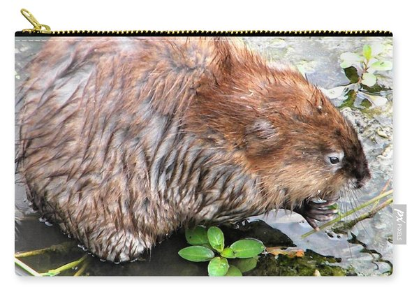 Charley The Muskrat Carry-all Pouch