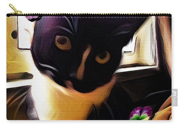 Charmed By My Beloved Cat Carry-all Pouch