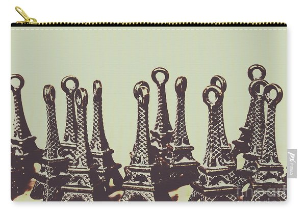 Charming Europe Landmarks Carry-all Pouch