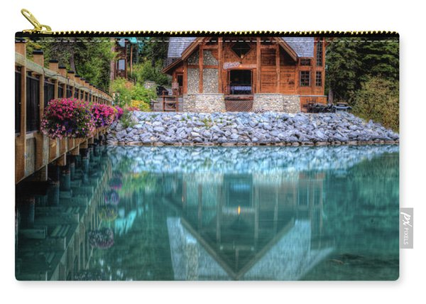 Charming Lodge Emerald Lake Yoho National Park British Columbia Canada Carry-all Pouch