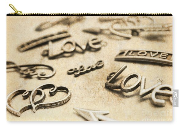 Charming Old Fashion Love Carry-all Pouch