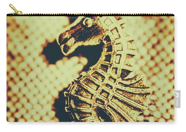 Charming Vintage Seahorse Carry-all Pouch