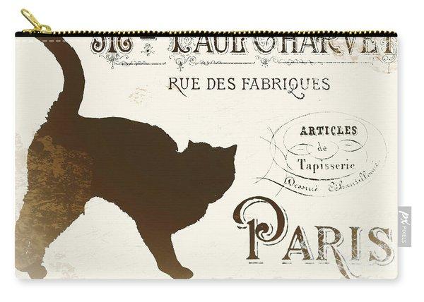 Chat Noir Paris Carry-all Pouch