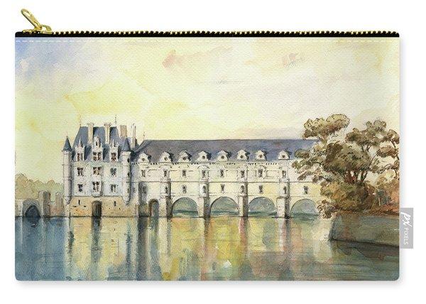Chateau De Chenonceau Carry-all Pouch