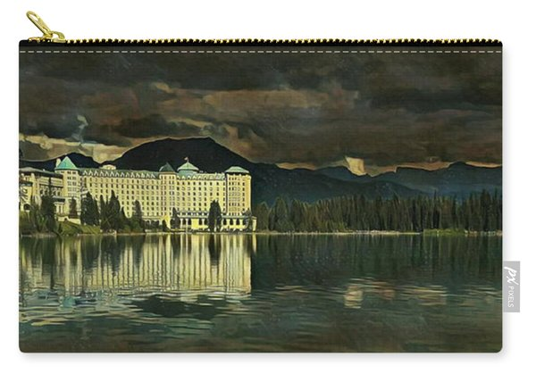 Chateau Lake Louise Carry-all Pouch