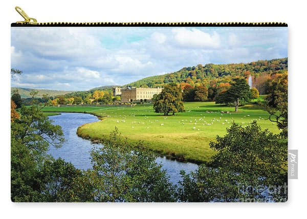 Chatsworth House View Carry-all Pouch
