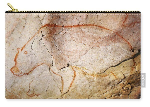 Chauvet Cave Bear 3 Carry-all Pouch
