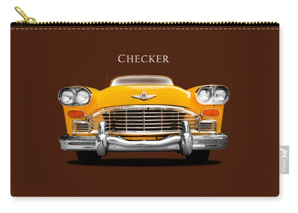 Checker Cab Carry-all Pouch