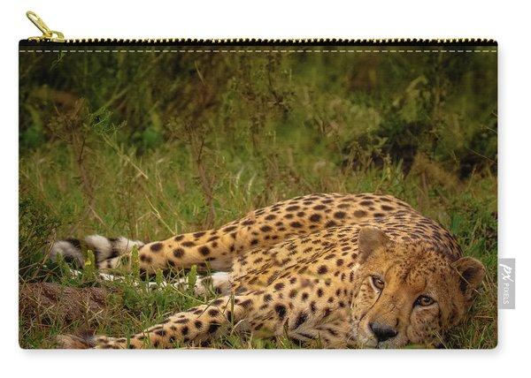 Cheetah Resting, Masai-mara Carry-all Pouch