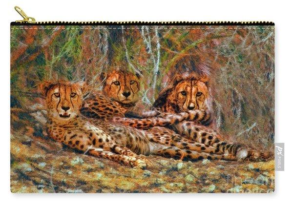 Cheetahs Den Carry-all Pouch