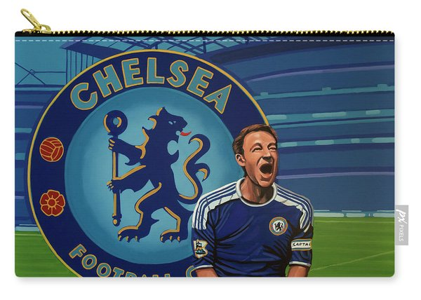 Chelsea London Painting Carry-all Pouch