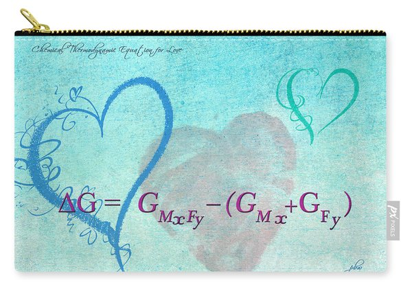 Chemical Thermodynamic Equation For Love Carry-all Pouch