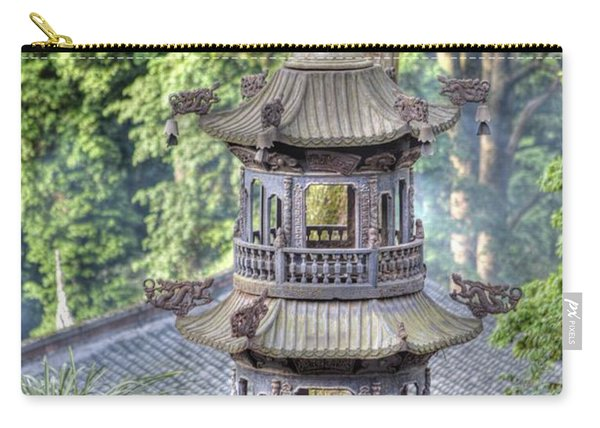 Chendu China Temple Carry-all Pouch