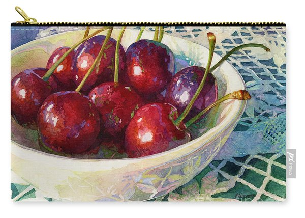Cherries Jubilee Carry-all Pouch