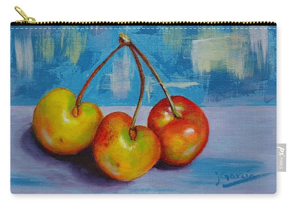 Cherries Trio Carry-all Pouch