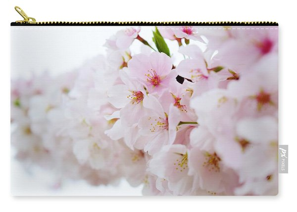 Cherry Blossom Focus Carry-all Pouch