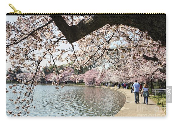 Cherry Blossom Stroll Around The Tidal Basin Carry-all Pouch