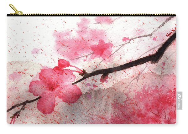 Cherry Blossoms 1 Carry-all Pouch