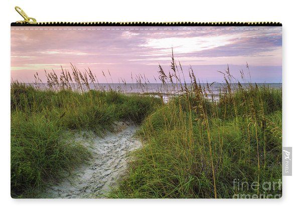 Cherry Grove Beach Scene Carry-all Pouch