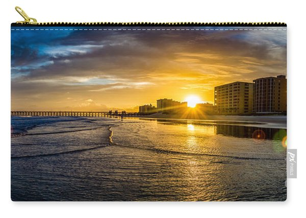 Cherry Grove Sunset Carry-all Pouch
