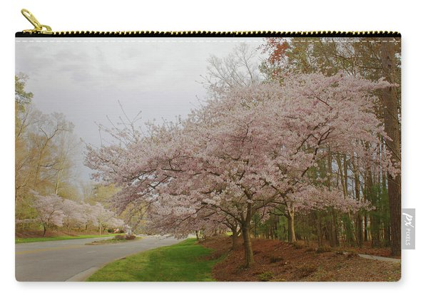 Cherry Trees On Canon Blvd Carry-all Pouch