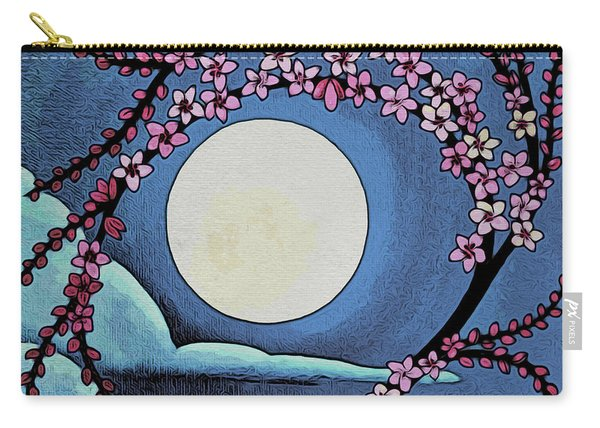 Cherry Whip Moon Carry-all Pouch