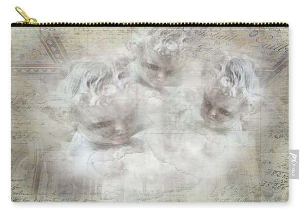 Cherubs In Bethesda Carry-all Pouch