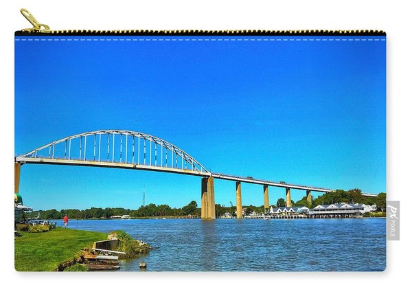 Chesapeake City Bridge  Carry-all Pouch