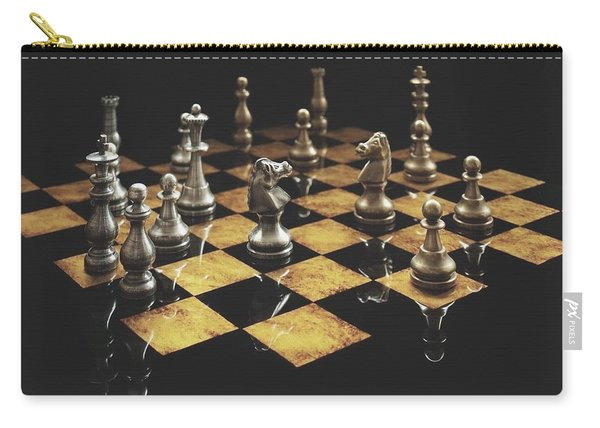 Chess The Art Game Carry-all Pouch