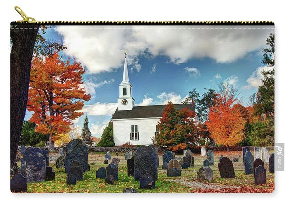 Chester Village Cemetery In Autumn Carry-all Pouch