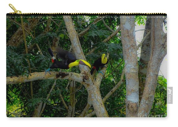 Chestnut-mandibled Toucans Carry-all Pouch