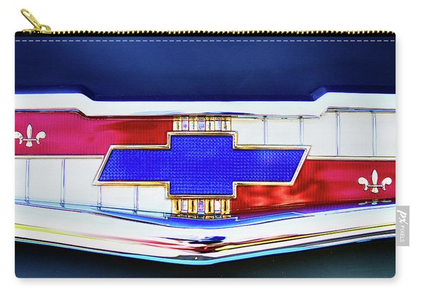Chevy's Fifties Bowtie Carry-all Pouch