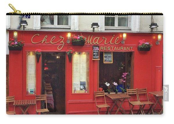 Chez Marie Restaurant, Montmartre, Paris Carry-all Pouch