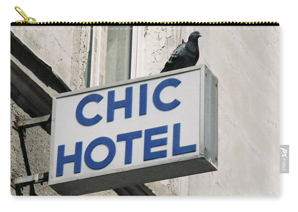 Chic Hotel Carry-all Pouch