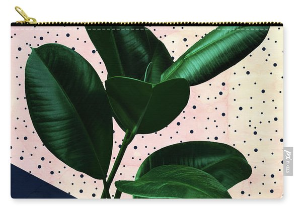 Chic Jungle Carry-all Pouch