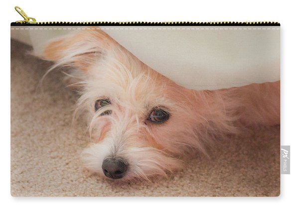 Chica In Hiding Carry-all Pouch
