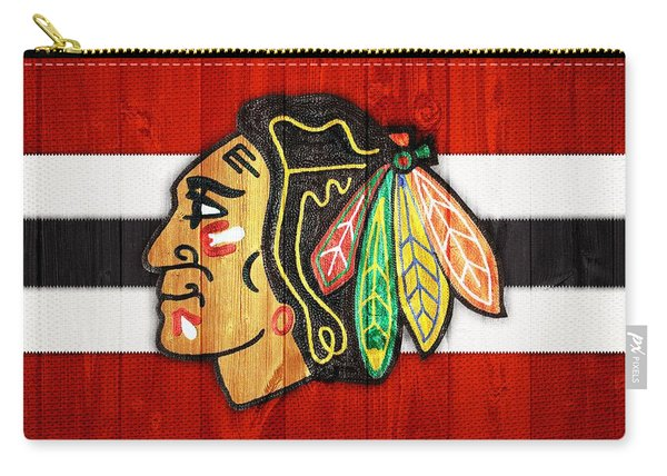 Chicago Blackhawks Barn Door Carry-all Pouch