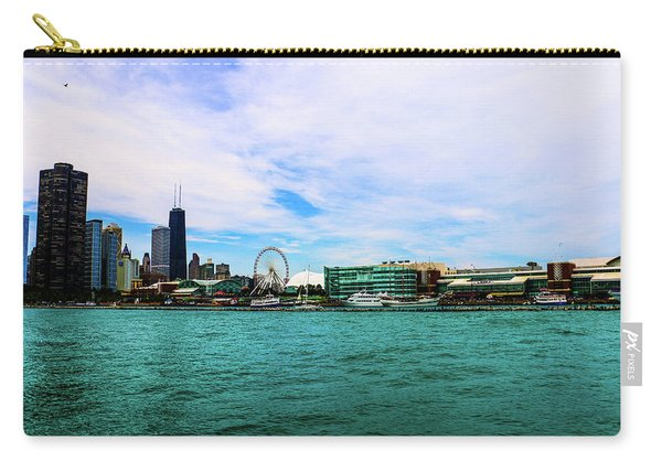 Chicago Blue Carry-all Pouch