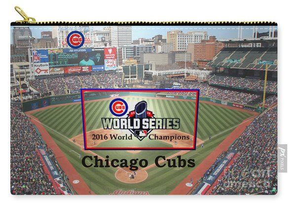 Chicago Cubs - 2016 World Series Champions Carry-all Pouch