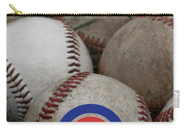 Chicago Cubs World Series Poster Carry-all Pouch