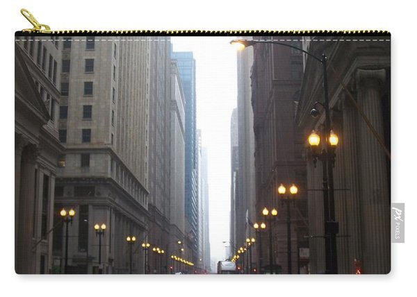 Chicago In The Rain 2 Carry-all Pouch