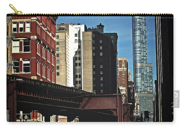 Chicago L Between The Walls Carry-all Pouch