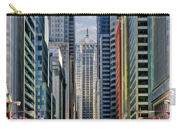 Chicago Lasalle Street Carry-all Pouch