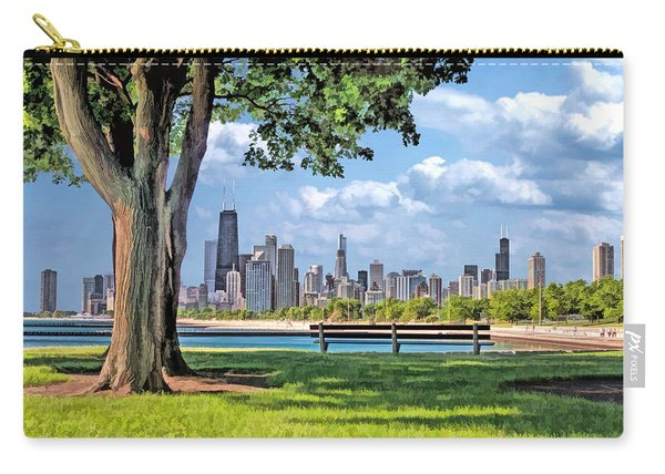 Chicago North Skyline Park Carry-all Pouch